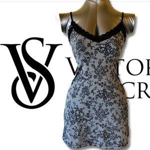 VS Black Lace Print Cami, Bodycon, Lingerie Top